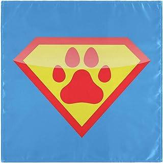 CaTaKu Superman Serviettes de table de table réutilisables lavables pour fête de la maison, cuisine, décoration de cuisin...
