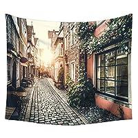 アーバンスタイルのタペストリー、プラスベルベット壁掛けタペストリーヨーロッパのベッドカバーホーム寝室リビングルームの装飾写真の背景布,5,200x150cm