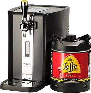 PerfectDraft Tireuse à Bière et 1 fût 6L Bière Premium - 5 euros de consigne inclus - Idée cadeau - Noël (Leffe Ruby)