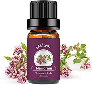 yethious Marjoram Essential Oils 100% Organic Pure Essential Oil Therapeutic Grade Aromatherapy Gift Oil 10ml