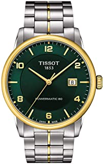 Men's Luxury Swiss Automatic Stainless Steel Dress Watch T0864072209700