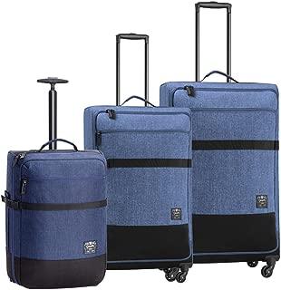 Caterpillar 1904 Originals 71, 61, 50cm Suitcase, (Denim Blue), (83487-358)