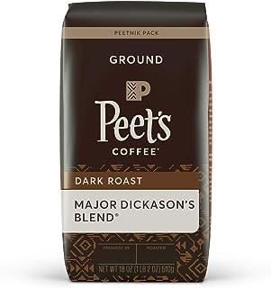 Peet's Coffee, Major Dickason's Blend - Dark Roast Ground Coffee - 18 Ounce Bag