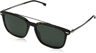 BOSS by Hugo Boss Men's Boss 0930/s Rectangular Sunglasses, DKHAVANA, 55 mm