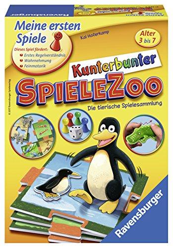 'Ravensburger Mis primeros Juegos 21269–'de dibujo de bajo Juegos Zoo divertido niños parte , color/modelo surtido