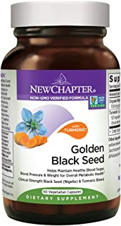 New Chapter Black Seed Oil - Golden Black Seed + Turmeric for Healthy Mood + Healthy Blood Sugar + Healthy Weight - 60 ct ...