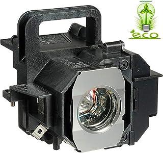 Angrox V13H010L49 Lamp Bulb for Epson ELPLP49 PowerLite Home Cinema 8350 8345 8500UB 8700UB 8100 6100 6500UB 7100 7500UB R...