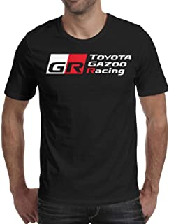 Mens T Shirts Cotton Crew Neck Toyota-TRO- Short Sleeve T-Shirts Tee