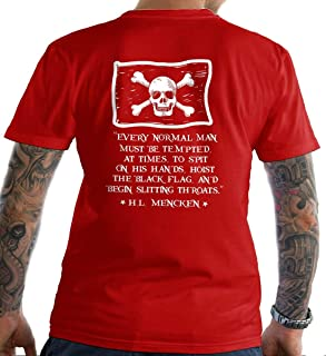 Every Normal Man Must be Tempted. T-Shirt. Made in USA
