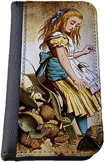 Alice in Wonderland Samsung Galaxy S4 wallet case PU leather case, foldable flip case, book style - cute animals
