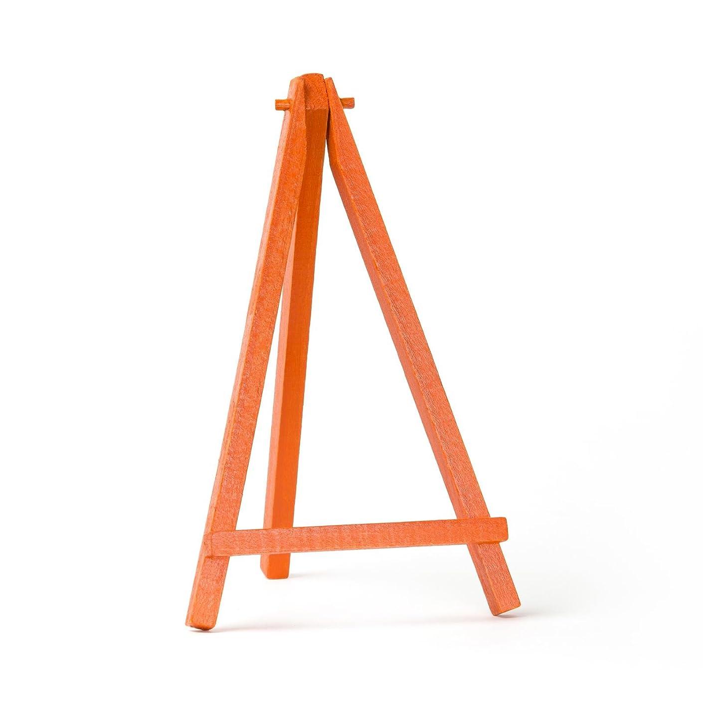 Quantum Art - Orange Color Mini Easel 8