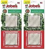 Jobe's 5001T Houseplant Indoor Fertilizer Food Spikes, 50 Pack(2)