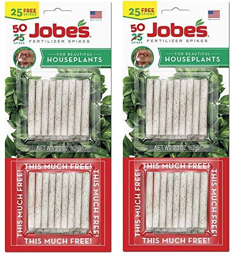 Jobe's 5001T Houseplant Indoor Fertilizer Food Spikes