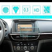 for 2014 2015 2016 Mazda ATENZA 7-Inch 15581mm Car Screen Tempered Film Navigation Screen Protector HD Clear 9H Hardness Anti-Fingerprint Anti-Scratch