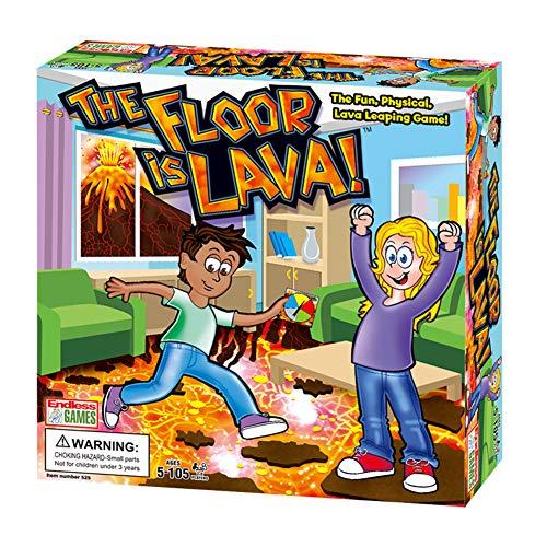 Rongchuang The Floor is La_va, Il Pavimento È Lava Gioco da Tavolo Interattivo per Bambini E Adulti, Family Board Games, Gioco Da Tavolo Gioco Carte Rotanti Per Feste