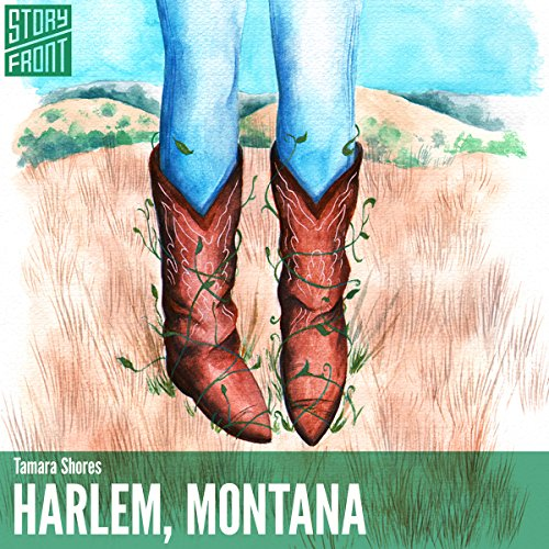 Harlem, Montana audiobook cover art