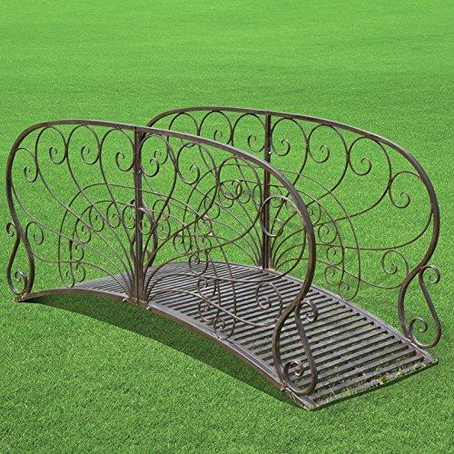 Chemin_de_campagne Brücke, Garten, Bach, funktional, Metall, 185 cm