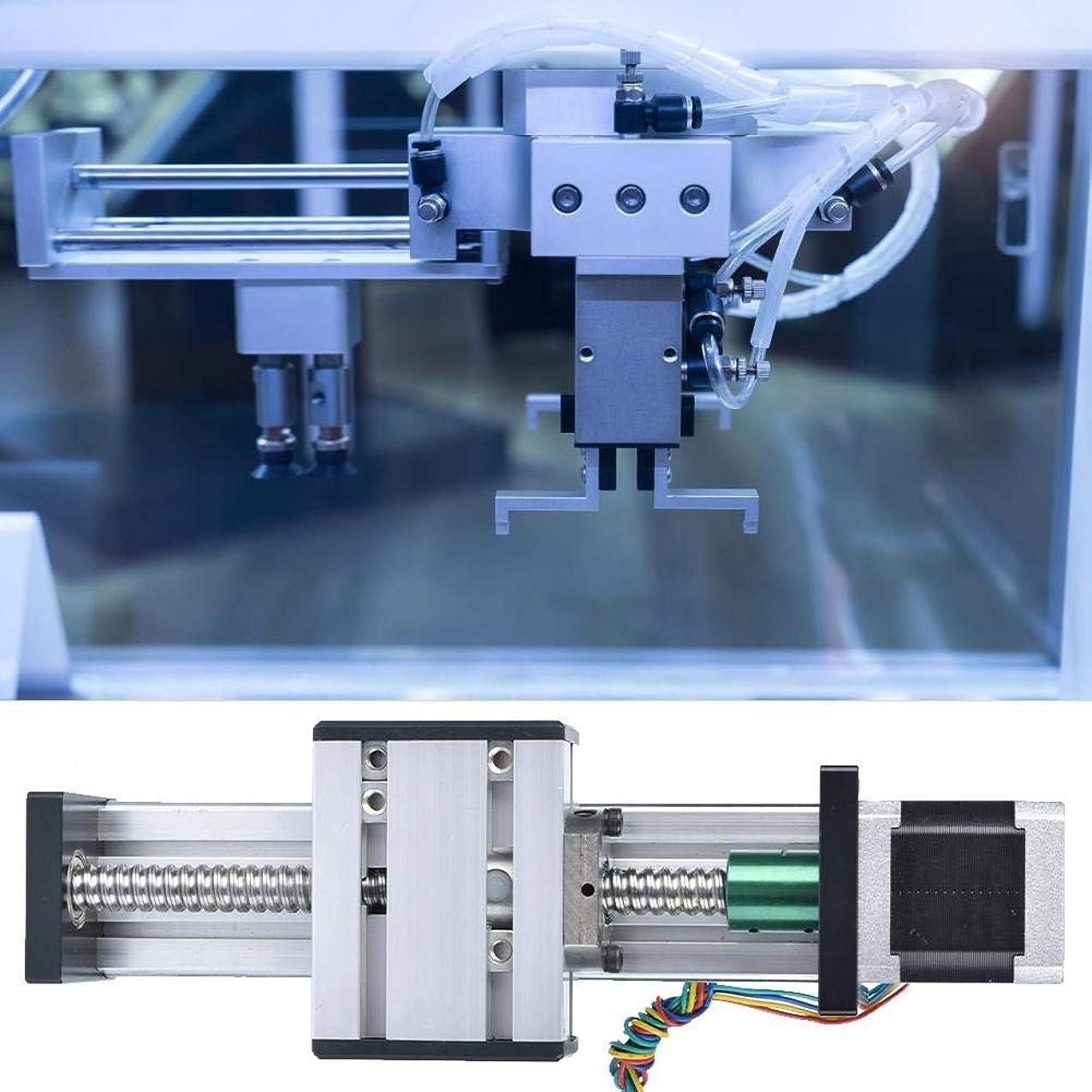 引き潮早熟可動式SSY-YU リニアガイドレール500ミリメートルストローク、シングルシャフトボールねじCNCオートメーション産業用モーター42(1610)で表をスライディング モーターブラケット リニアアクチュエータ CNC部品
