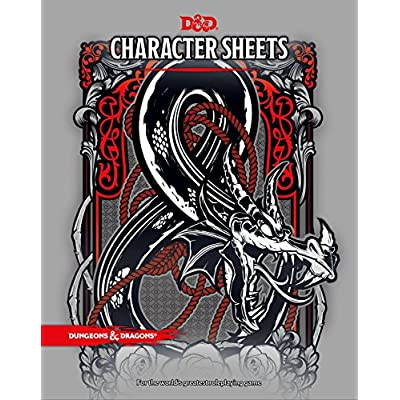 Official Dungeons /& Dragons Drizzt Character Folio