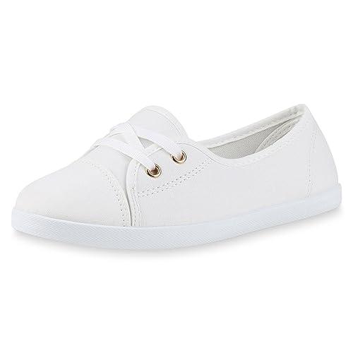 b41111645a367d best-boots Damen Ballerinas Sneaker Schnürer Slipper Halbschuhe sportlich
