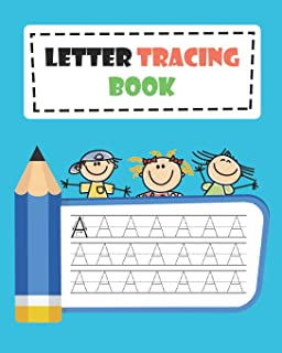 Letter Tracing Book: Learn How to Write Alphabet A to Z Uppercase and Lowercase Letters (Volume 6)