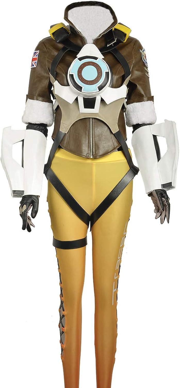 tomamos a los clientes como nuestro dios CosJugarfly Adulto Adulto Adulto OW Tracer Lena Oxton nanotraje CosJugar Disfraz para Adulto  alta calidad
