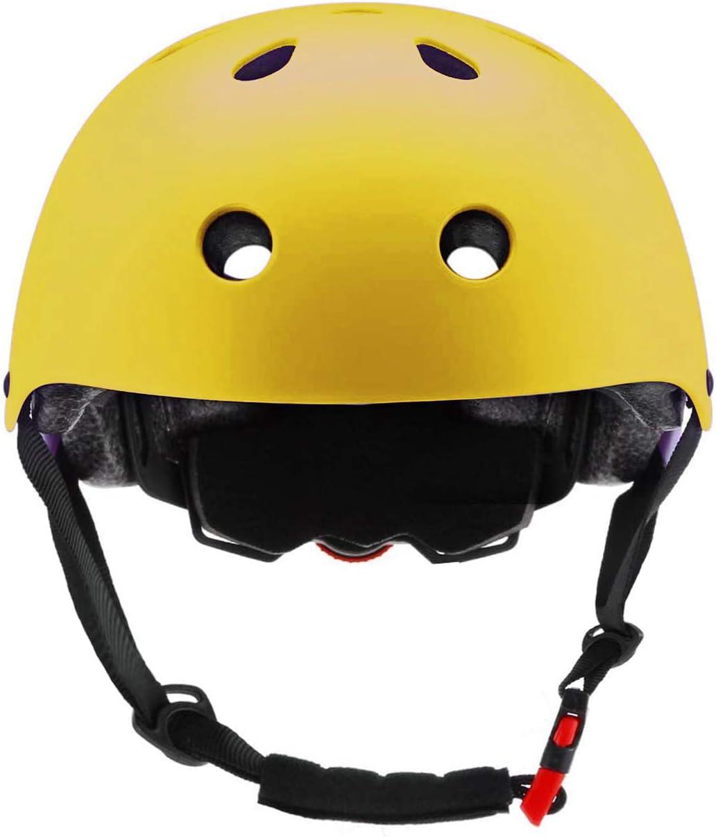 S: 48-54 cm // 18.89-21.26 ZLEIOUY Kids Bike Helmet Toddler Helmet Children Multi-Sport Helmet CPSC Certified Impact Resistance Ventilation Adjustable Helmet Youth Kids Skateboard Cycling Helmet