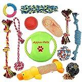Aipper 犬子犬 おもちゃ12パック 子犬含まプレイタイムや歯 クリーニング IQトリートボールSqueak おもちゃや犬フライングディスク用 おもちゃを噛んで 子犬歯が生えるおもちゃ小型犬 中型 ため (アソートカラー) 12パック