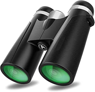 10x42 Binoculars with Clear Weak Light Night Vision, Lightweight Compact Shock Proof Design for Kids Adults Bird Watching,...