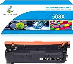 True Image Compatible Toner Cartridge Replacement for HP 508X CF360X 508A CF360A Color Laserjet Enterprise M553dn M553n M577dn M553x M552dn M577 M533 Printer Ink (Black, 1-Pack)