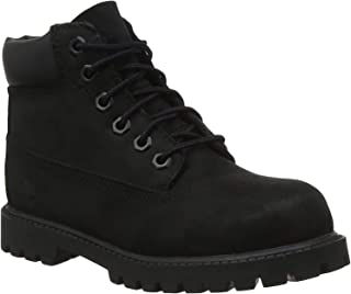 Timberland Boys Premium Nubuck Lace-Up Ankle Boots