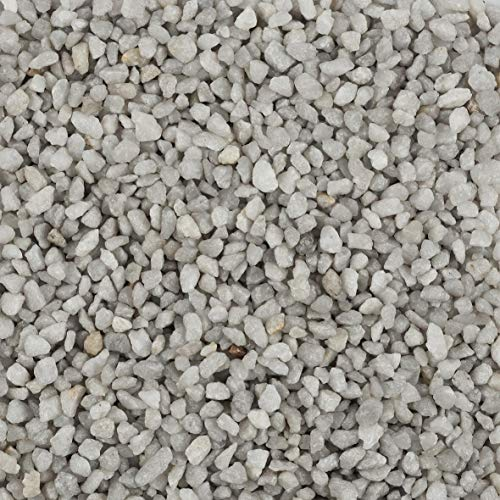 Eurosand Deko Granulat, Zierkies 2-3 mm hellgrau 5 Kg (1 Kg = 1,79EUR)