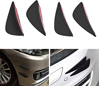 KKmoon 6 St/ück Frontsto/ßstange Paste Car Body Kits Fin Splitter Spoiler Canard Valence Geben Sie f/ür Reparatur Wartung