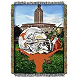 Texas Longhorns 'Home Field Advantage' Woven Tapestry Throw Blanket, 48' x 60'
