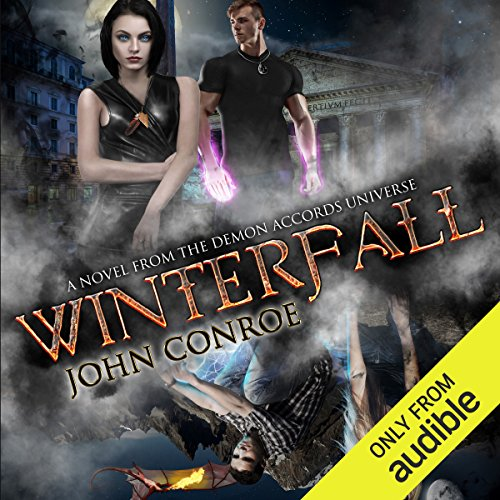 Winterfall audiobook cover art