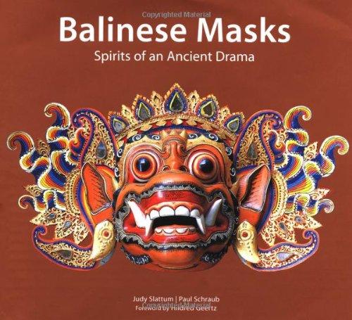 Balinese Masks: Spirits of an Ancient Drama