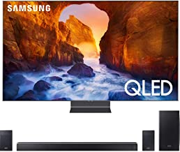 "$4239 » Samsung QN75Q90RA 75"" Q90 QLED Smart 4K UHD TV (2019 Model) Bundle with HWQ90R 510W 7.1.4-Channel Soundbar w/Wireless Subwoofer"