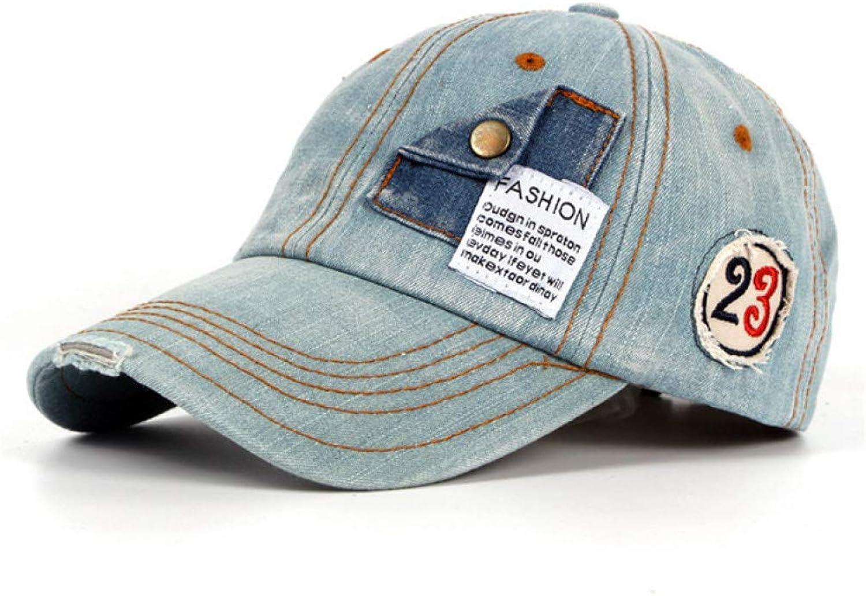 WYKDA Novelty Cotton Denim Hats for Men Or Women Baseball Caps