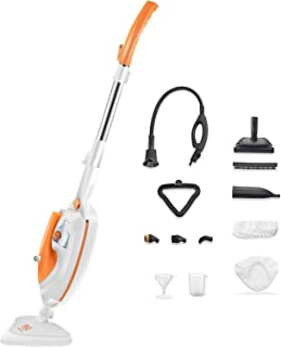 Moolan Steam Mop 12 in 1 Steam Cleaner with Detachable Handheld Unit, Floor Steamer for Tile, Hardwood, Laminate, Carpet, ...