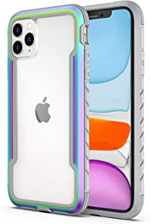 Aodh Compatible with iPhone 11 Case, Clear iPhone 11 Cases with Edge Shockproof Protection, Military Grade Drop Protection, TPU Protective Case for Apple iPhone 11 6.1 Inch (Iridescent)