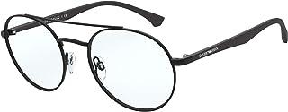 Emporio Armani EA 1107 Matte Black 53/20/145 men Eyewear Frame