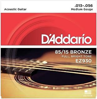 D'Addario EZ930 - Juego de cuerdas para guitarra acústica de bronce, 013' - 056'