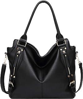 حقائب Hynice للنساء حمل حقيبة هوبو مقبض حقائب الكتف بو الجلود العمل الأزياء حقيبة ذات سعة كبيرة