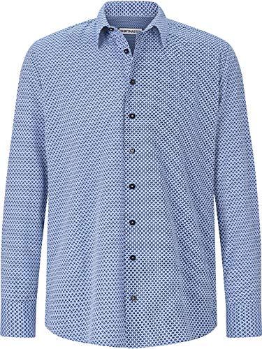 Shirt Master Herren Hemd Patterns (Langarm-Hemd, Freizeithemd) Gemustert 3XL (XXXL) - 47/48