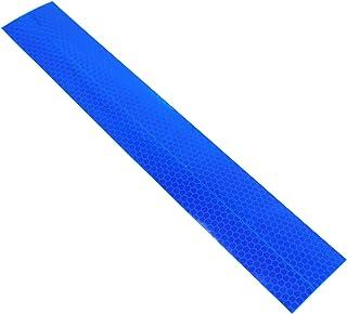 Wildwarnfolie reflectorfolie reflecterende tape honingraatpatroon blauw markering tape waarschuwing zelfklevend beschermin...