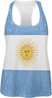 World Cup Argentina Sun All Over Womens Tank Top