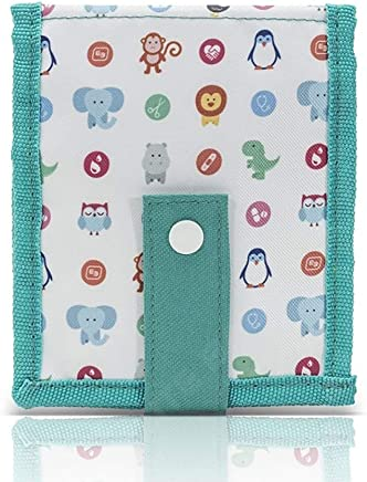 Keens de Elite Bags| Organizador de enfermería| Diseño infantil| Múltiples compartimentos | Con imán