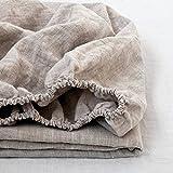 Best Linen Sheets - Simple&Opulence 100% Linen Fitted Sheet (1 Piece) Mattress Review