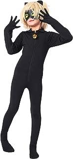 Kid's Ladybug Cat Noir Cosplay Jumpsuit Boy's Girls Costume for Halloween Christmas Party Jumpsuit