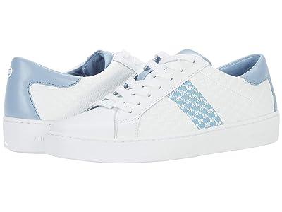 MICHAEL Michael Kors Colby Sneaker (Pale Blue) Women